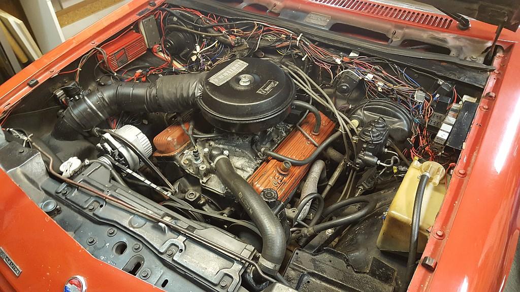 Chevy Monza Engine