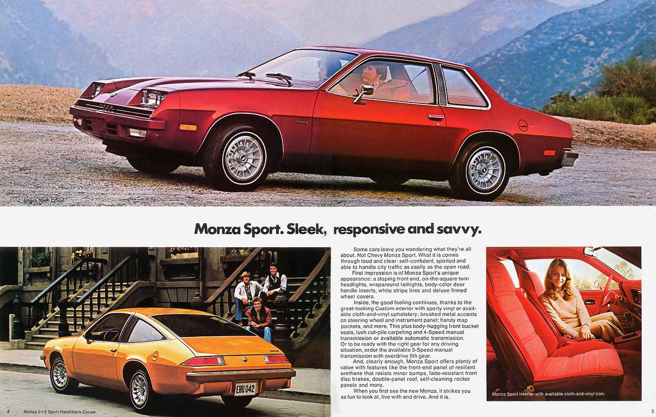 Chevrolet Monza print ad
