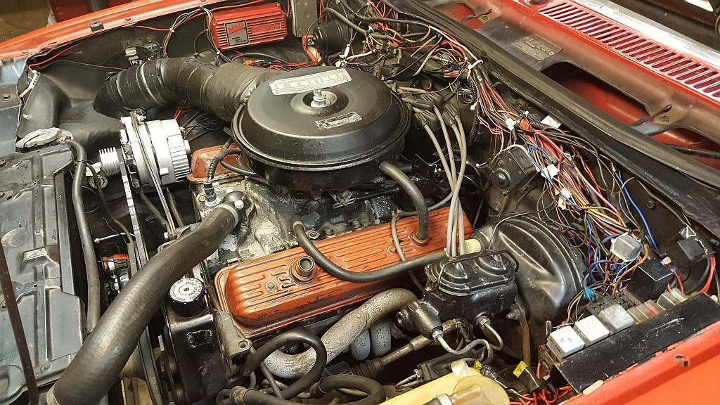 350 TBI engine
