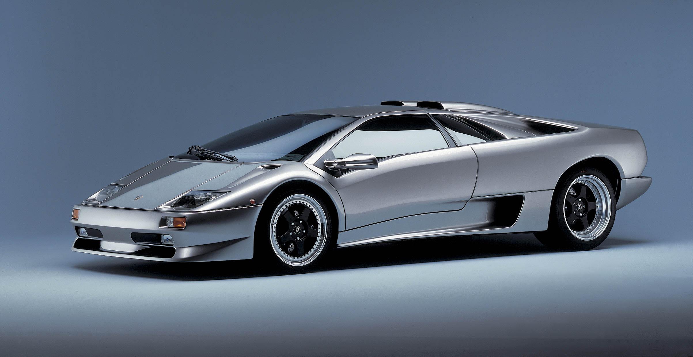 Lamborghini Diablo front 3/4