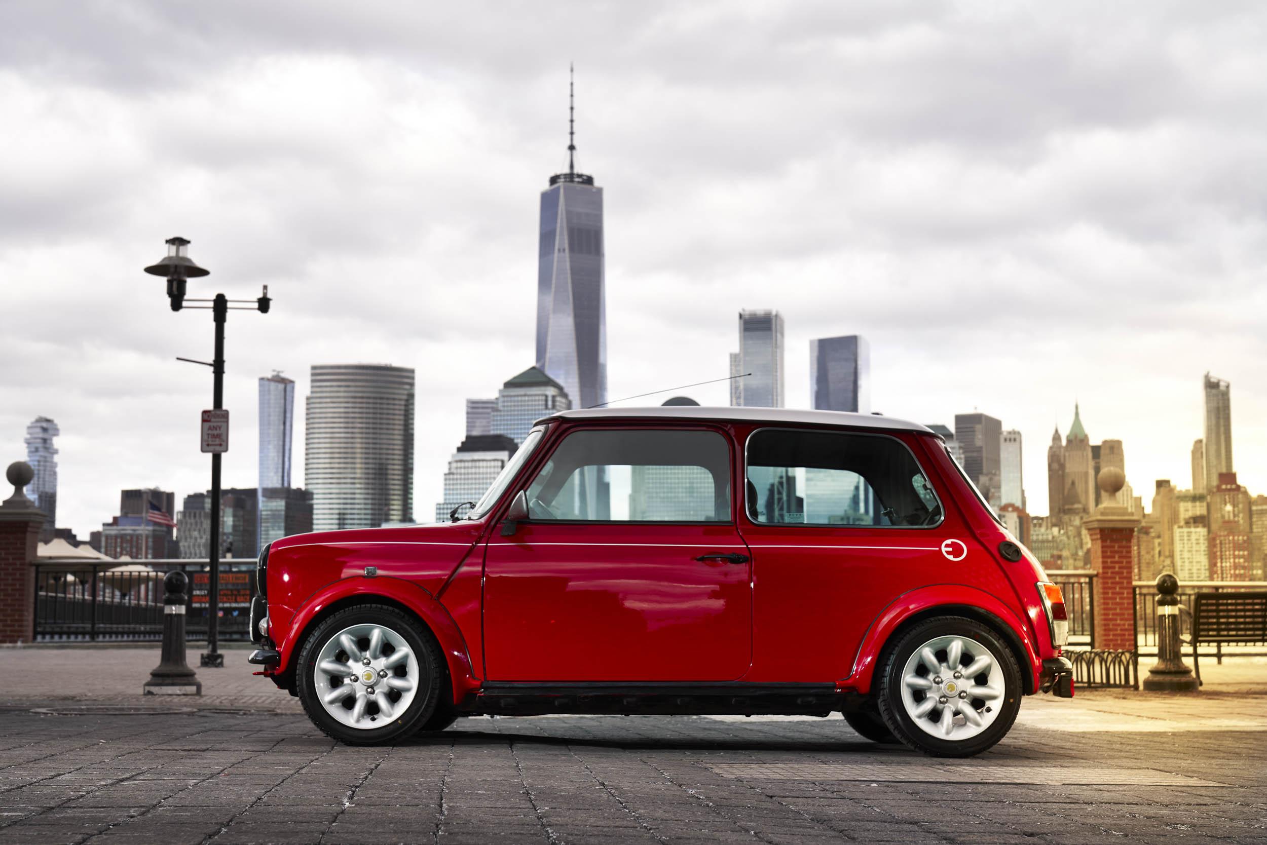 electric classic Mini profile
