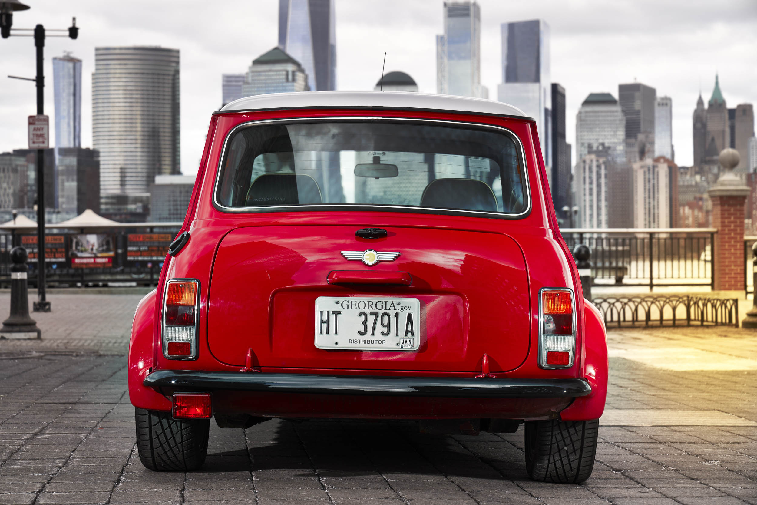 electric classic Mini rear