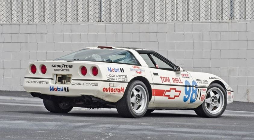 Stu Hayner won the 1988 Corvette Challenge Championship and also raced in the 1989 season.