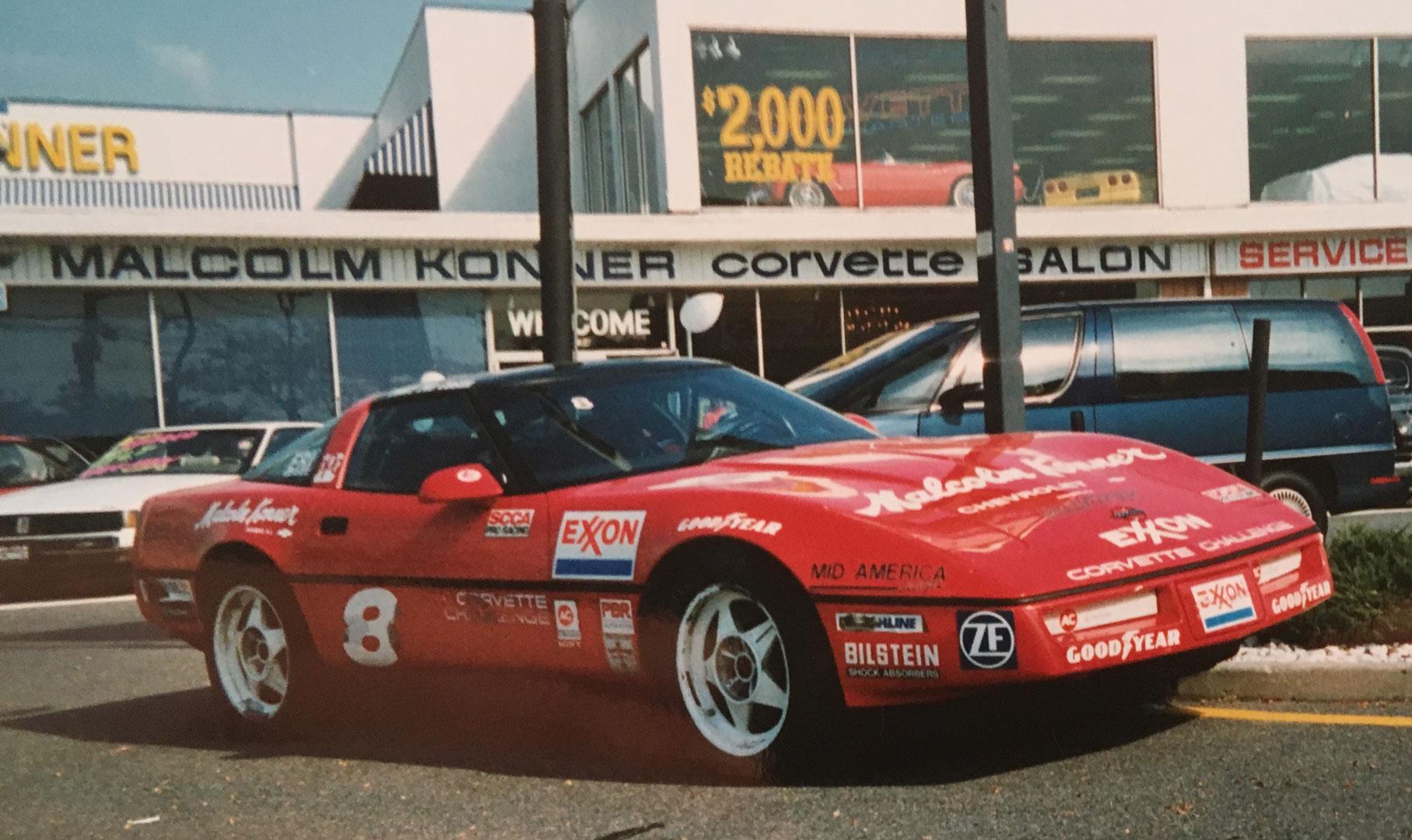 Mark Wolocatiuk (#8) also had sponsorship from Malcolm Konner Chevrolet.