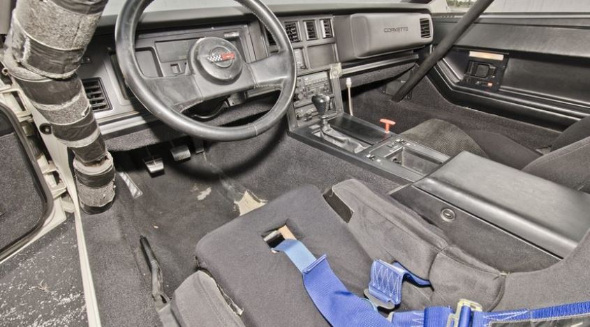 Race conversion included roll cage, racing seat and harness, and fire system.