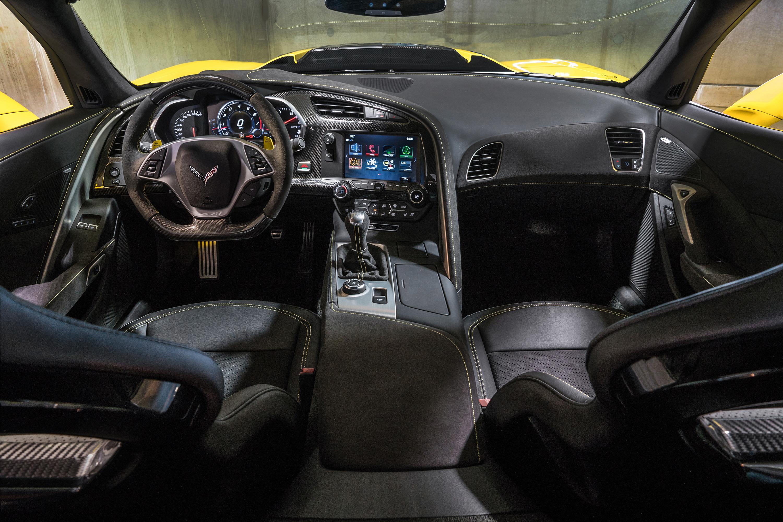 2019 chevrolet corvette zr1 interior dark