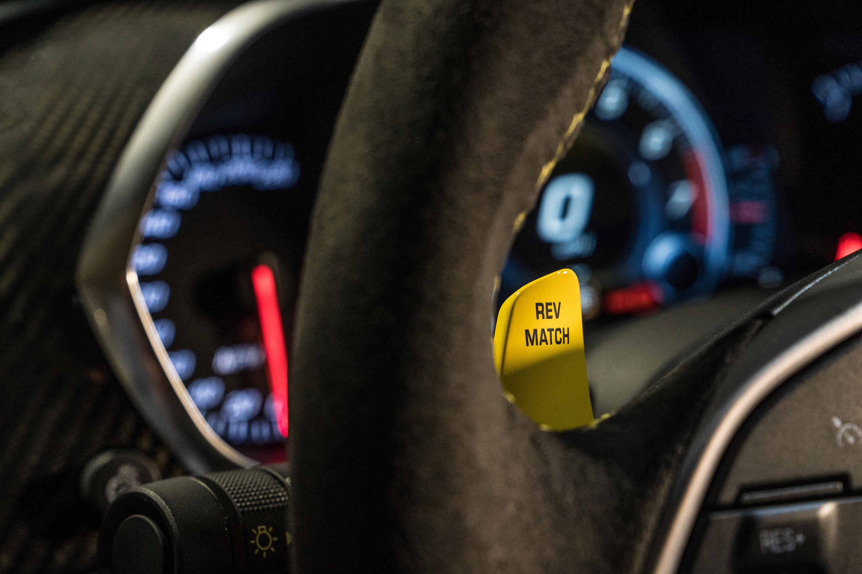 2019 chevy corvette zr1 rev match switch steering wheel