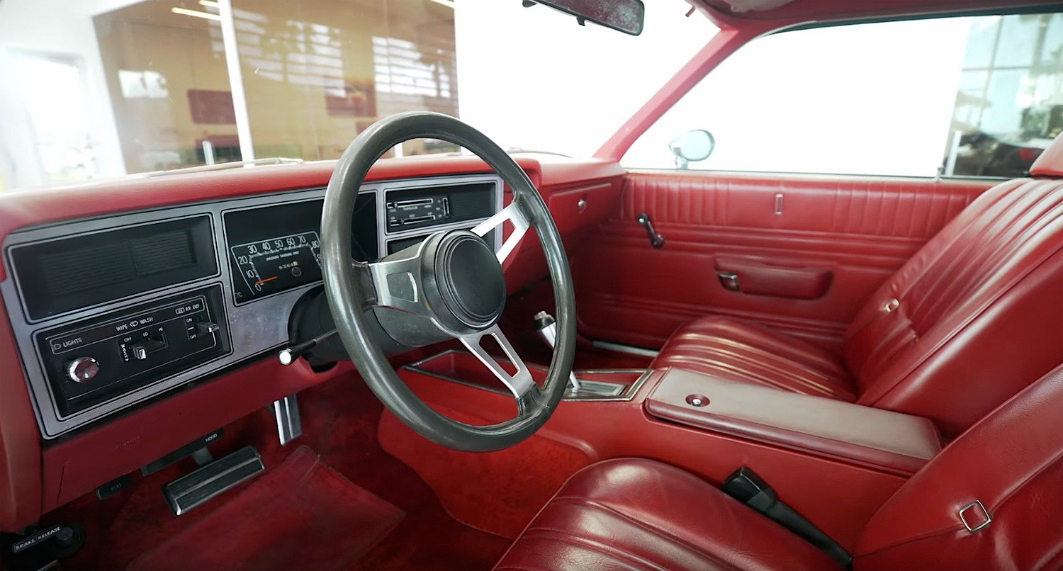 1978 Dodge Street Kit Car interior
