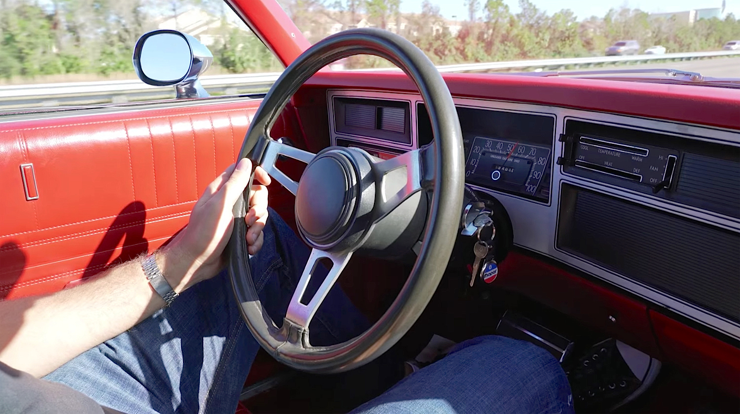 1978 Dodge Street Kit Car steering wheel