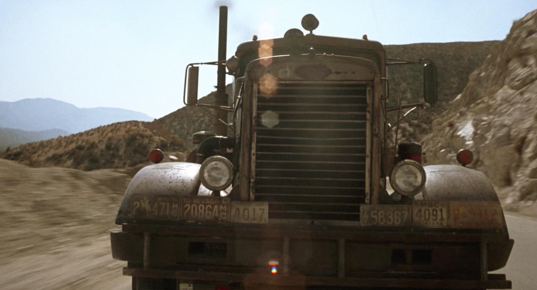 1955 Peterbilt 281 tanker front