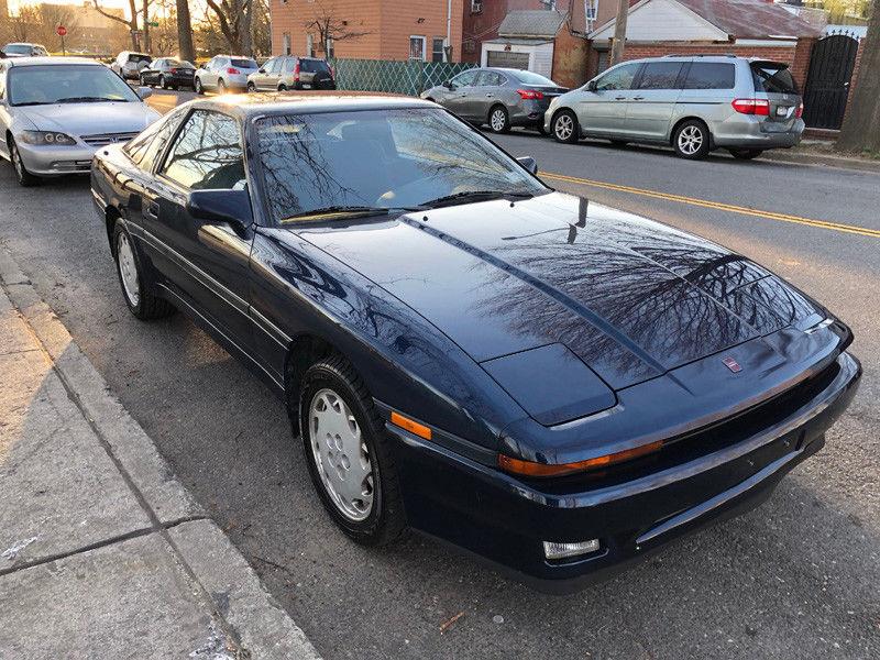 1988 Toyota Supra front 3/4
