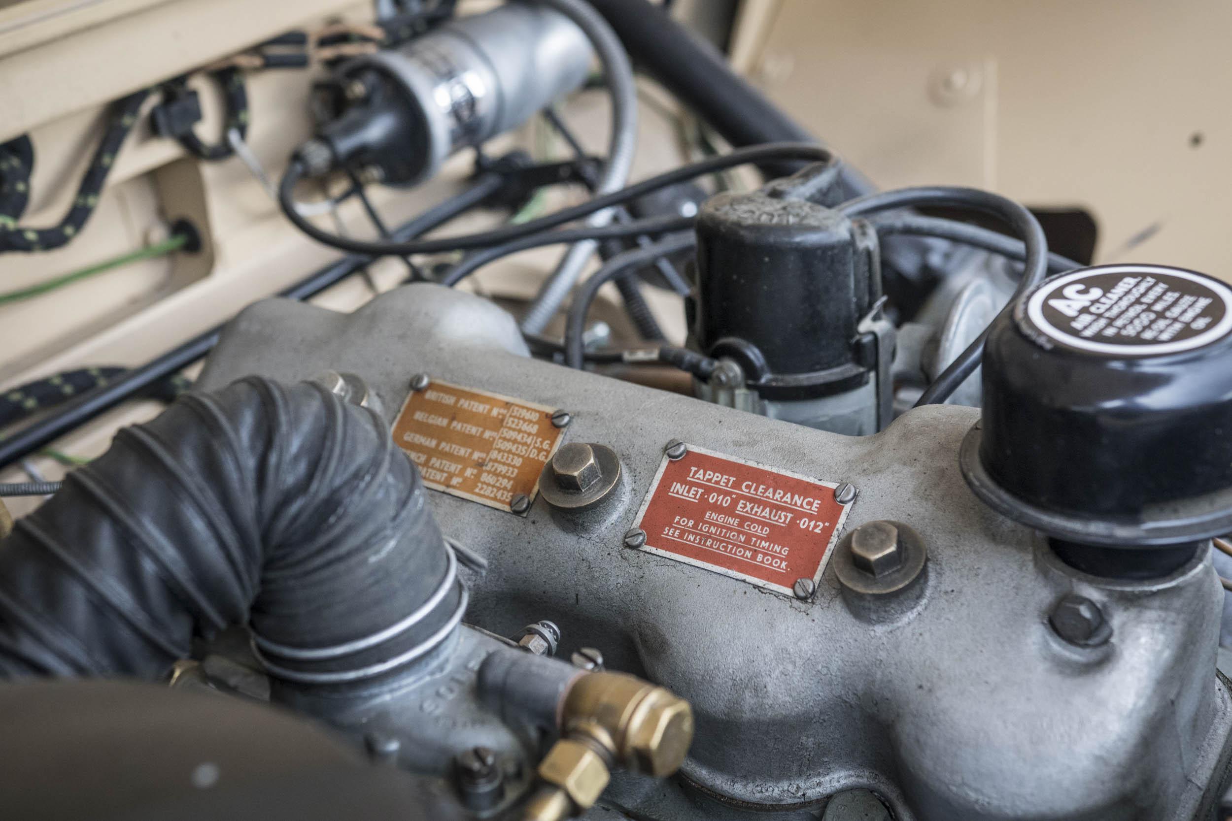 1957 Land Rover engine