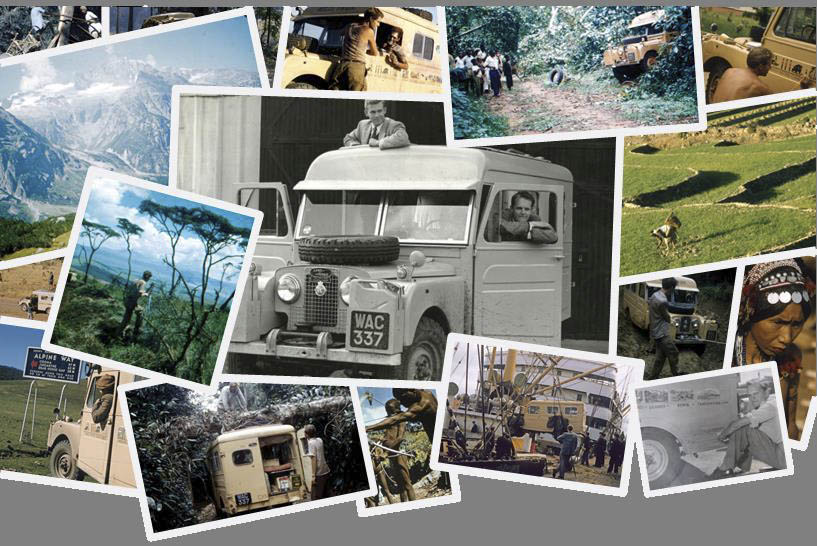 collage of photos from the travels of the Grizzly Torque