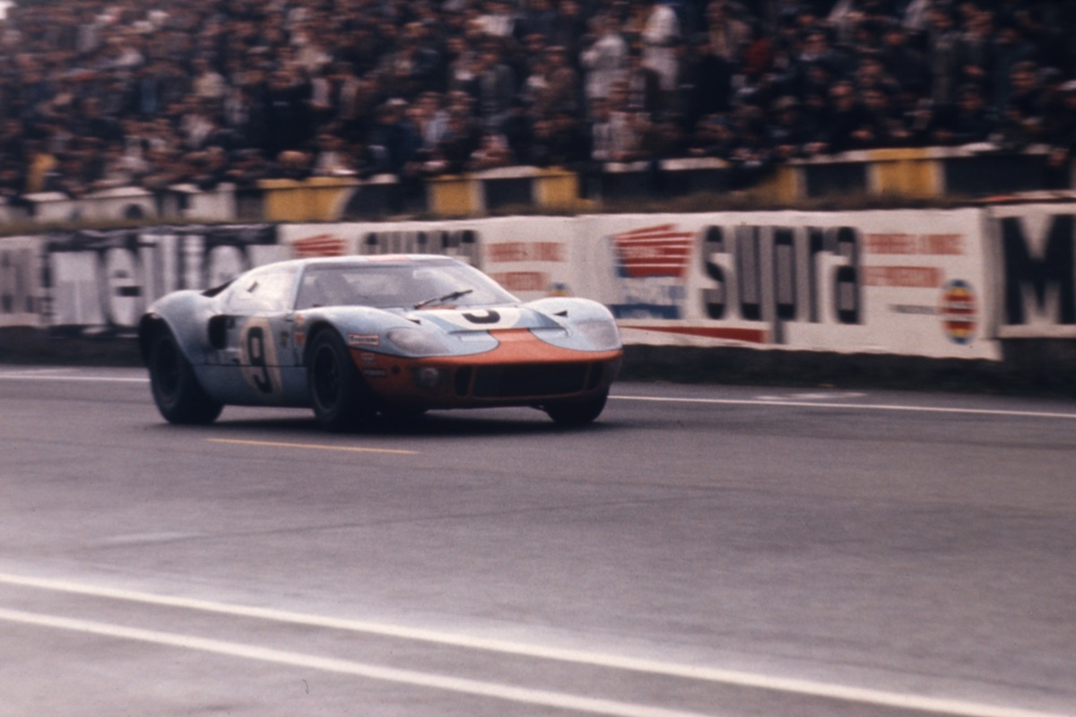 GT40 chassis number 1075 at Le Mans