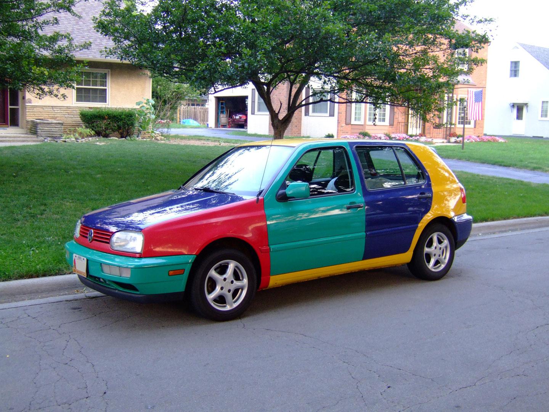 Volkswagen Golf Harlequin