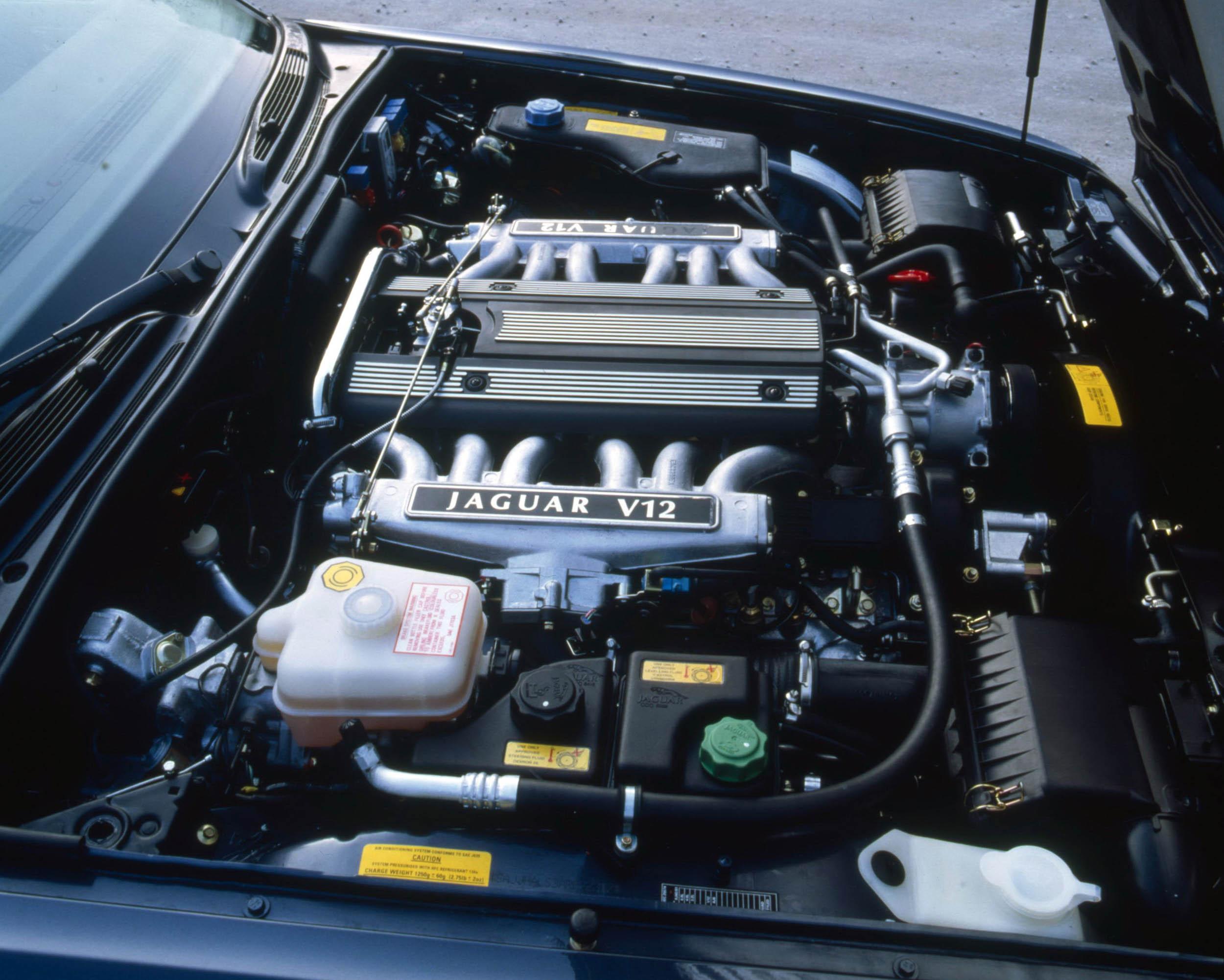 V-12 engine in XJ Sedan