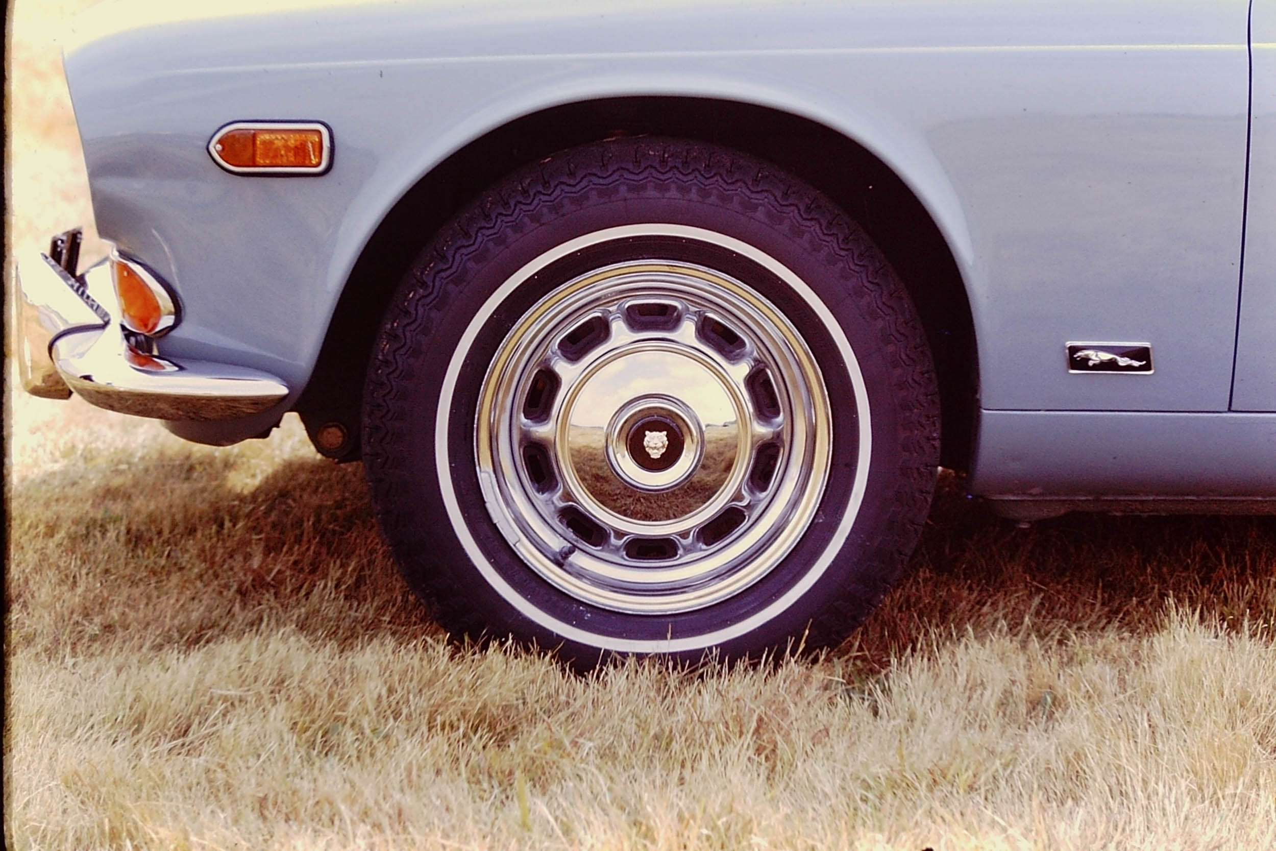 XJ Series I Wheel Detail