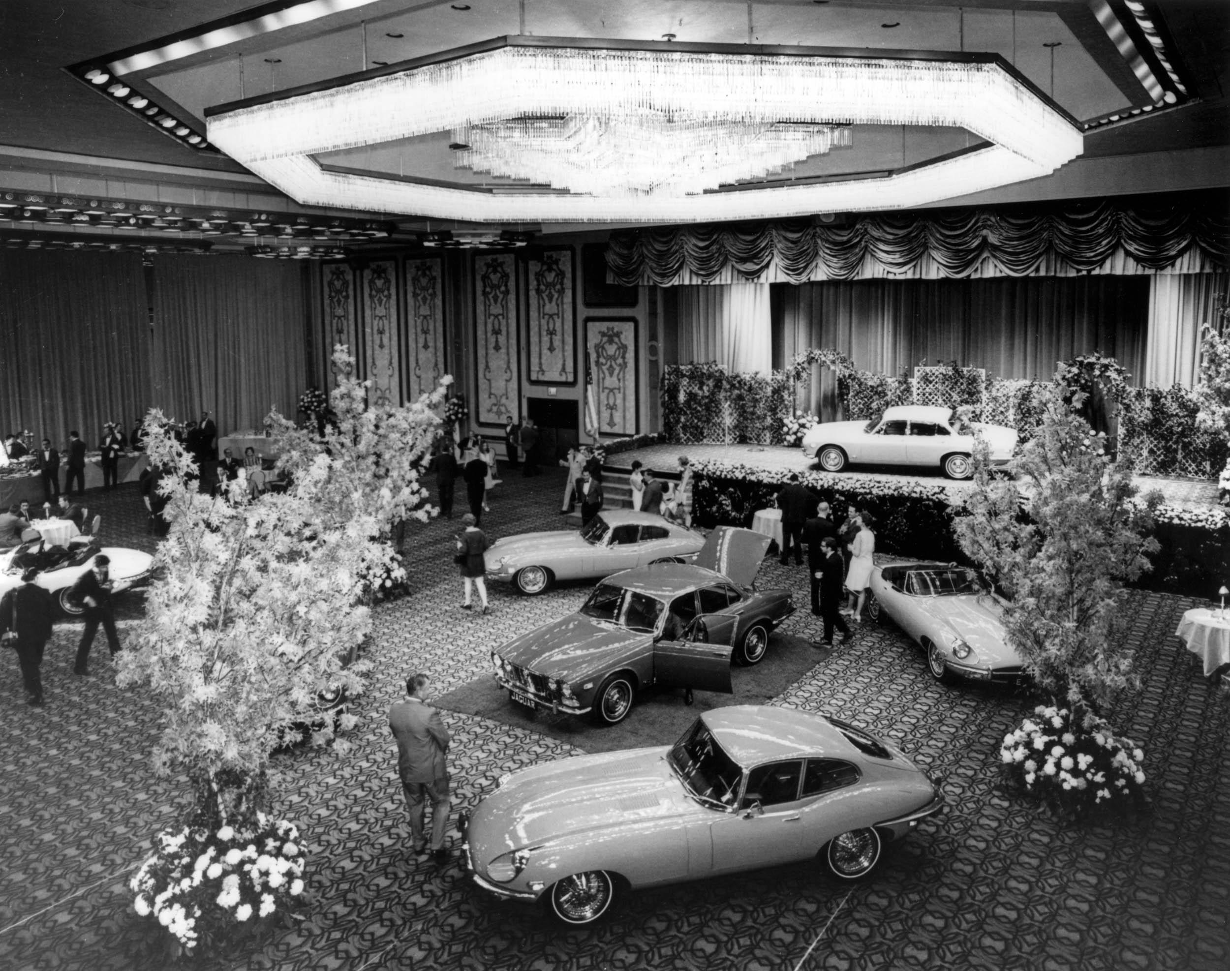 XJ6 Launch NY Hilton 1968