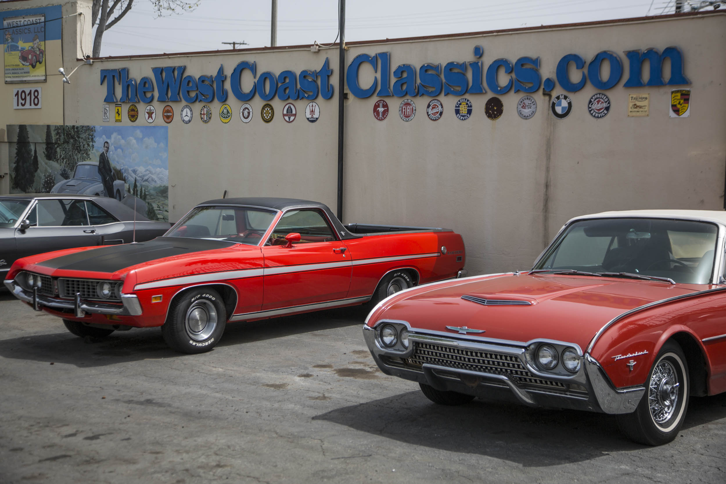 West Coast Classics Ford thunderbird