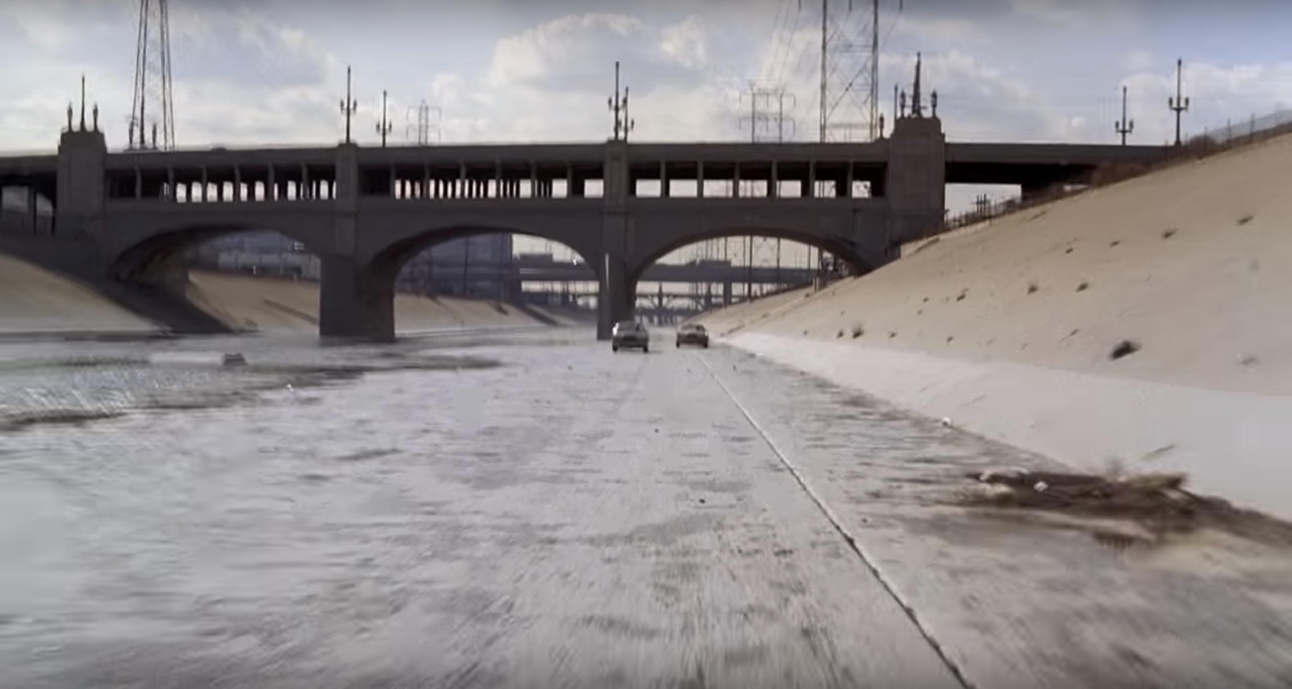LA River car chase