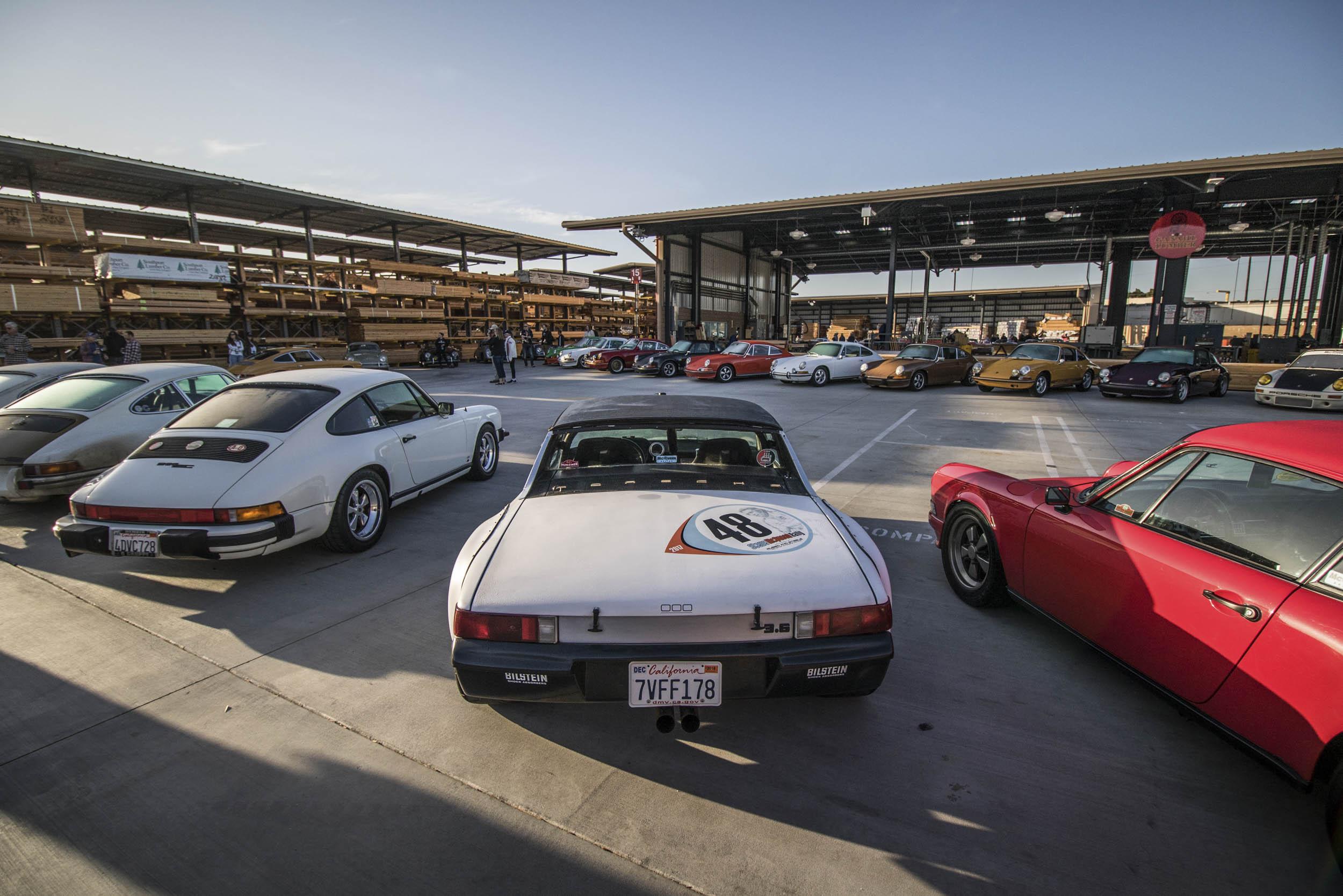 Luftgekühlt Porsche car show