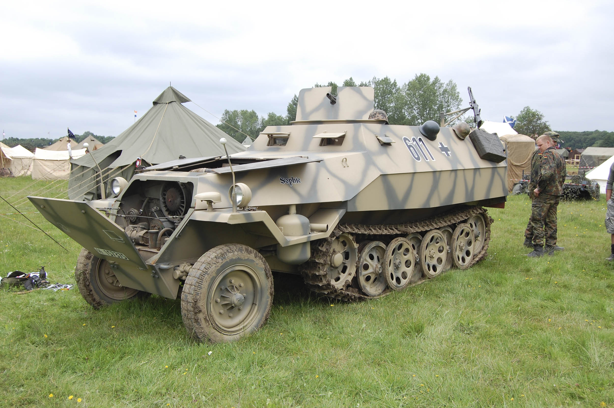 sdKFz 251, or more likely a later Czech built OT-810