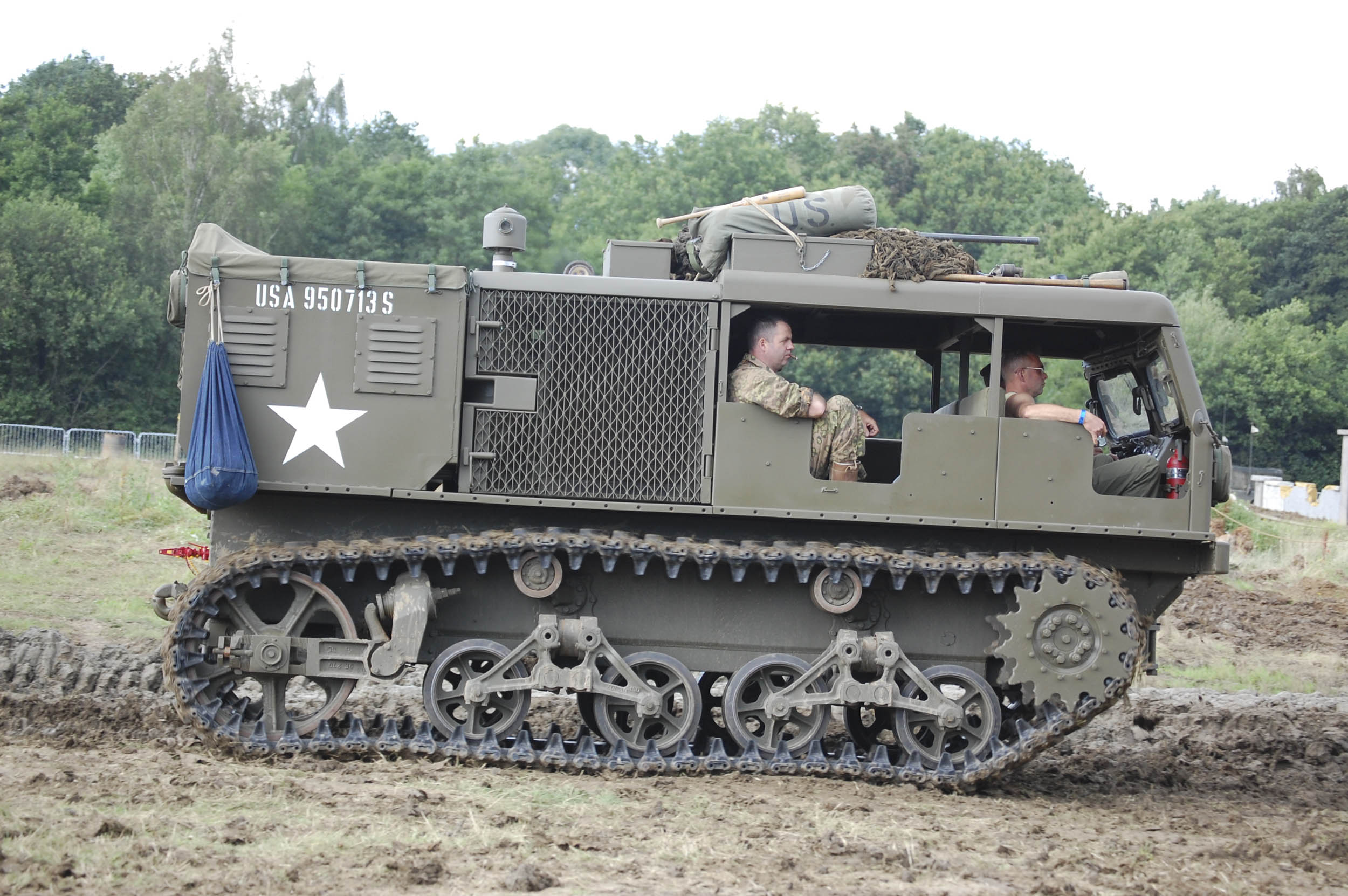 US Army M4 high-speed tractor, WW2