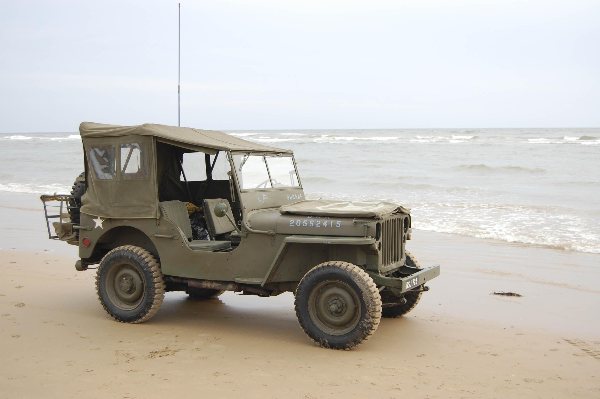 1942 GPW 'jeeps'