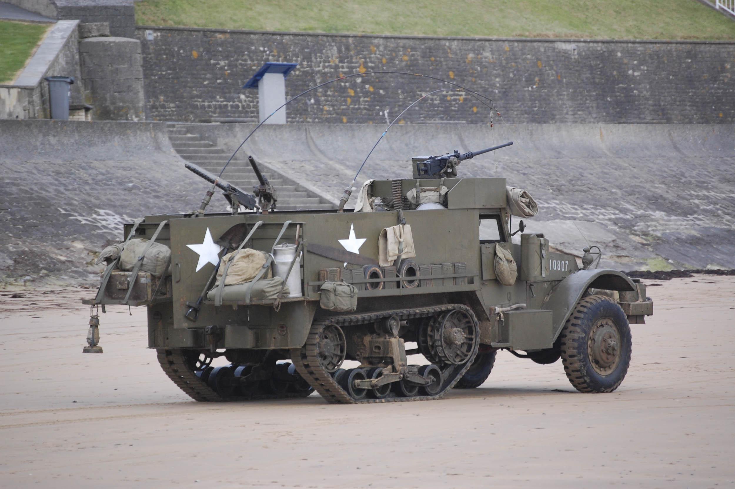 US Army M3 Halftrack, WW2