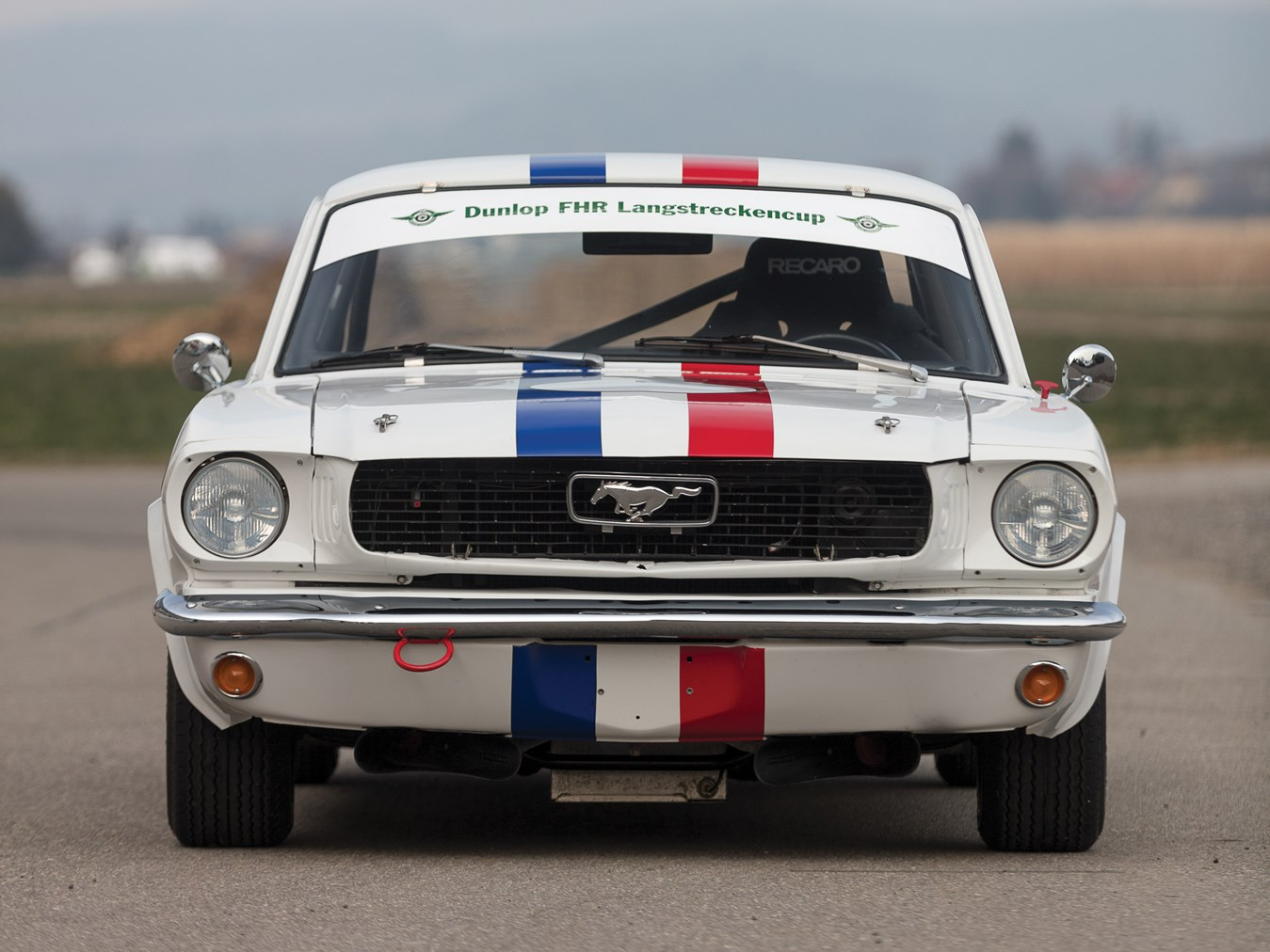 1966 Ford Mustang 289 Coupé FIA front