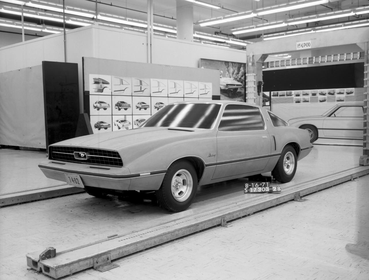Shark-nose Ghia Mustang II