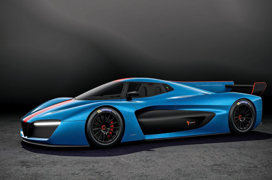 H2 Speed concept front 3/4