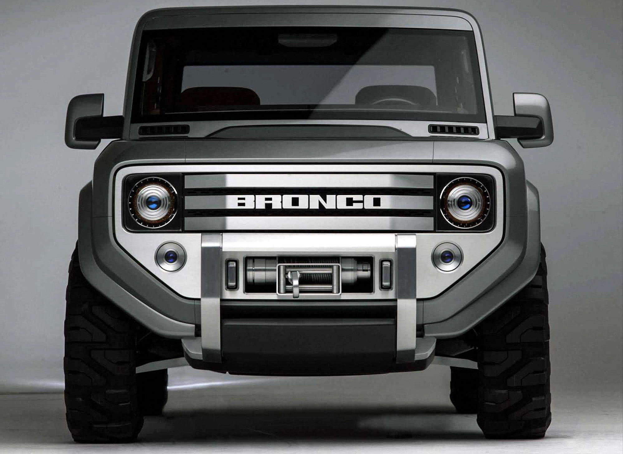 Ford Bronco Concept front