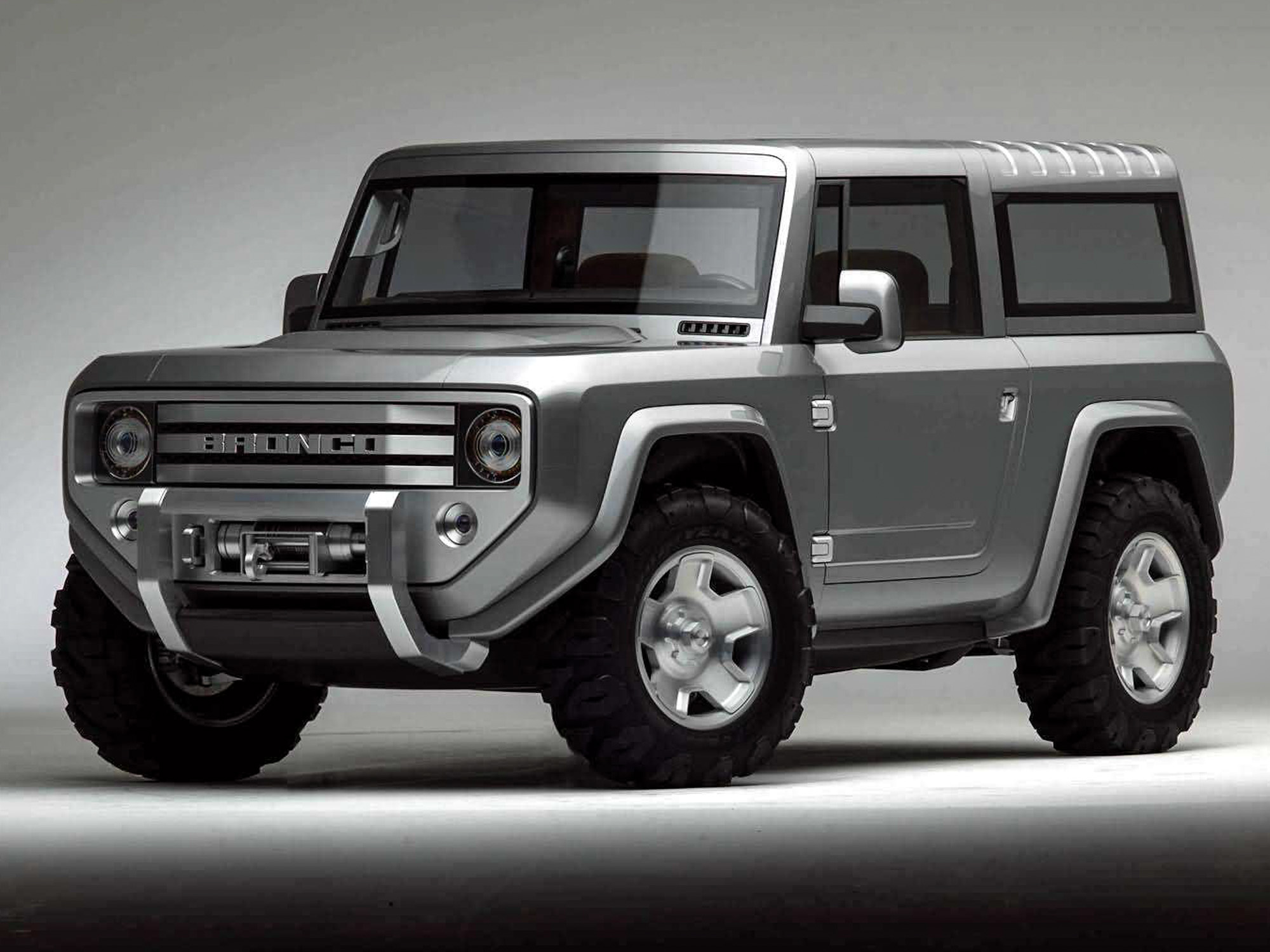 Ford Bronco Concept front 3/4