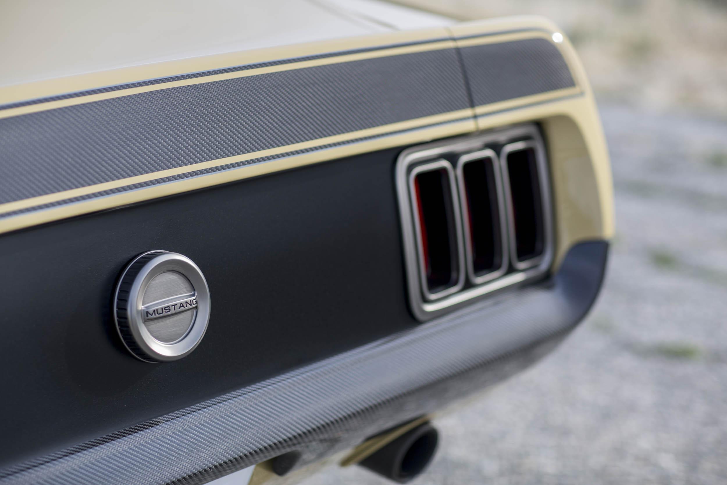 Speedkore 1970 Mustang taillight detail