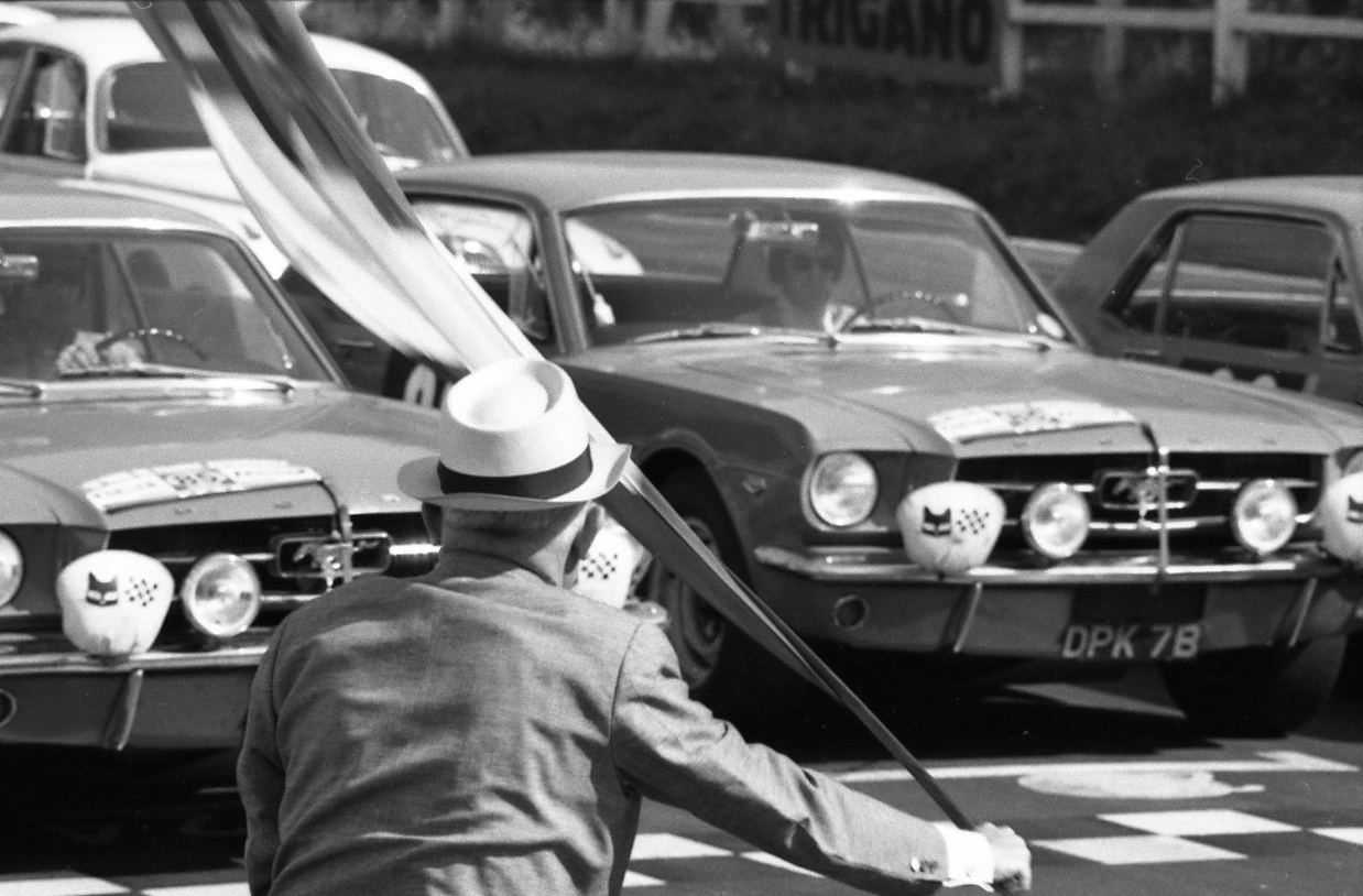 The Tour de France Mustangs had Holman & Moody-built 289s and a host of chassis mods by Alan Mann Racing.