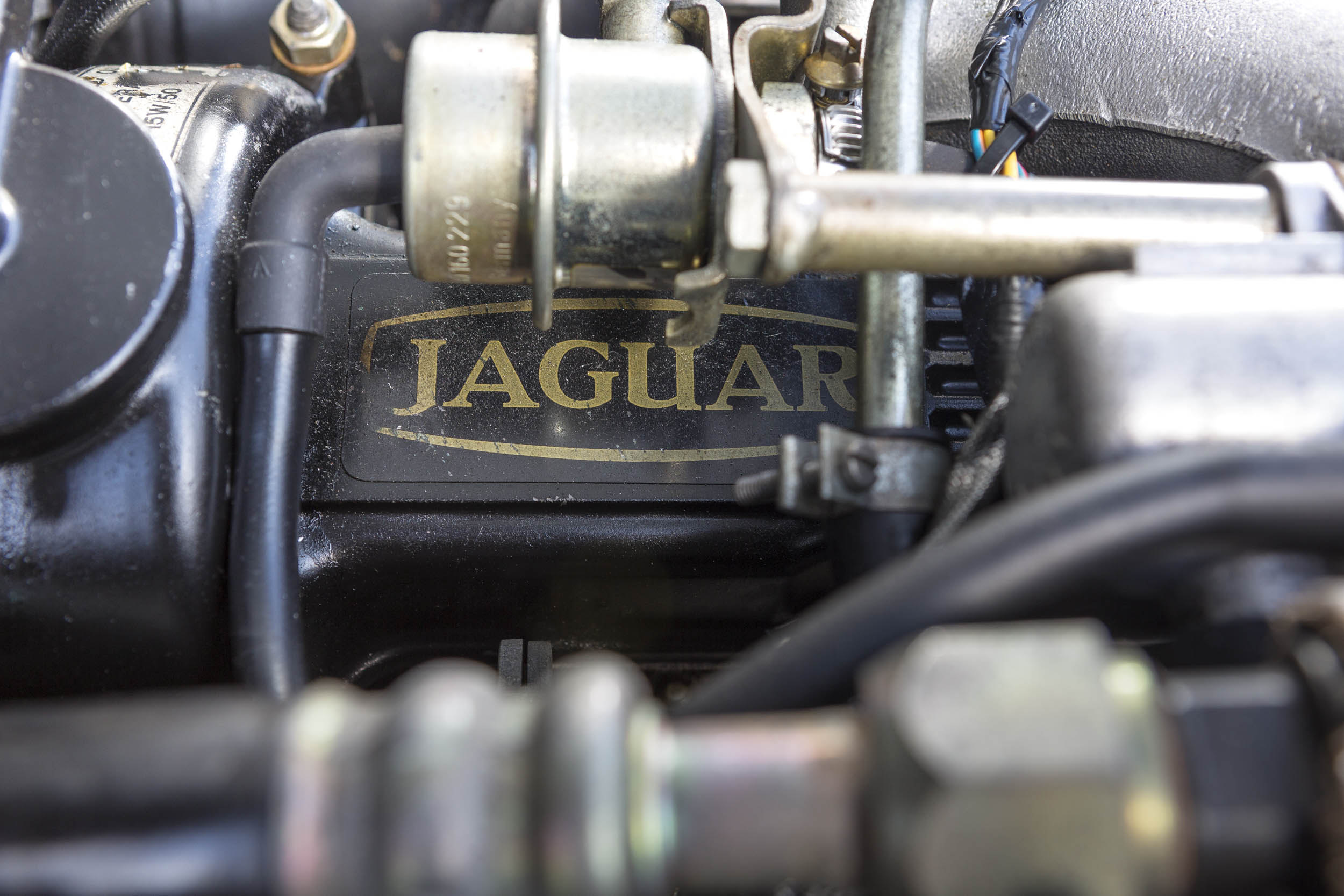 1984 Jaguar XJ-S V-12 engine detail
