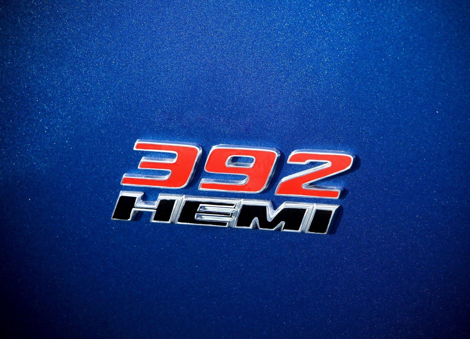 2011 Dodge Challenger SRT8 392 Badge