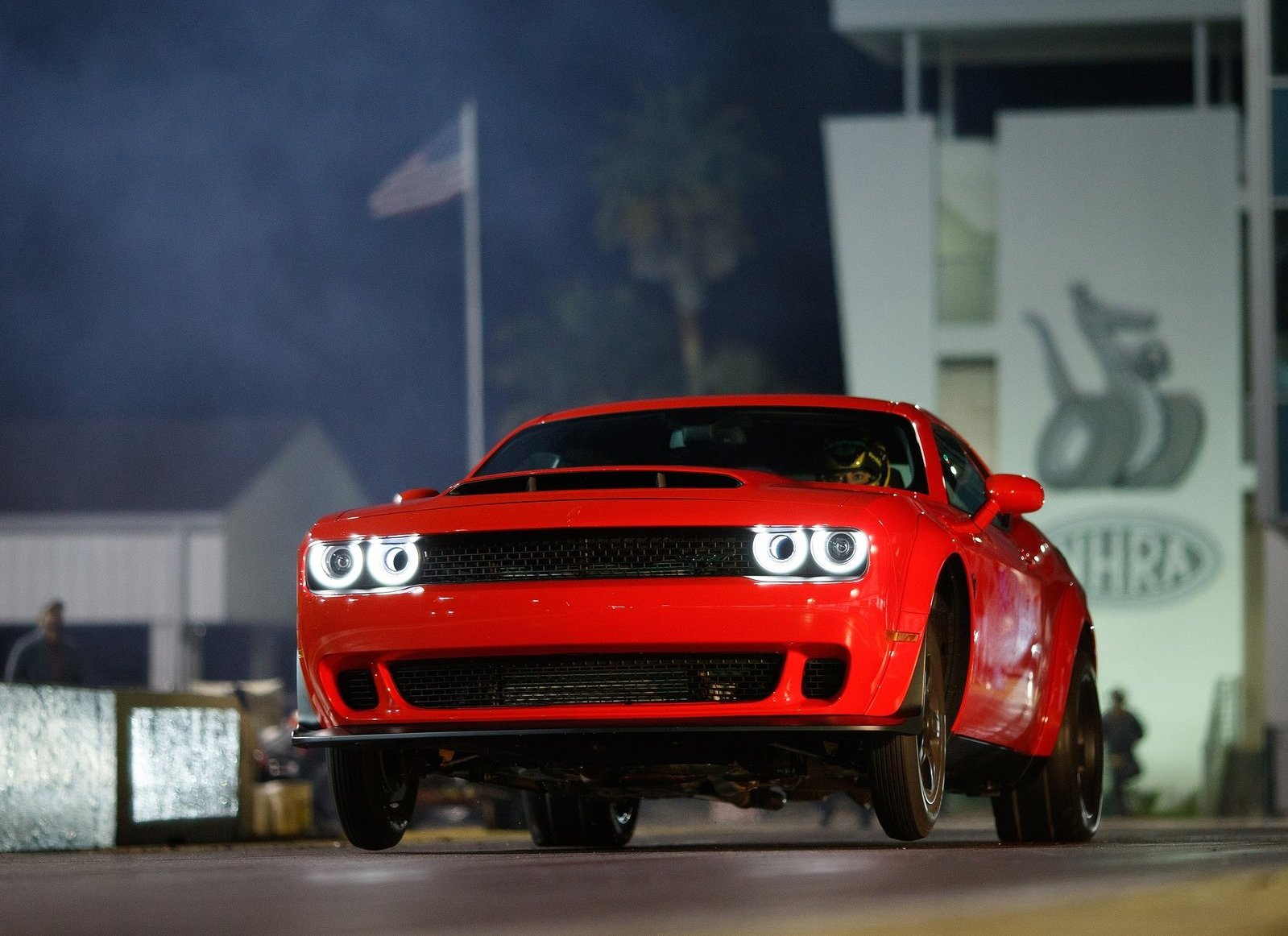 2018 Dodge Challenger SRT Demon Wheelie