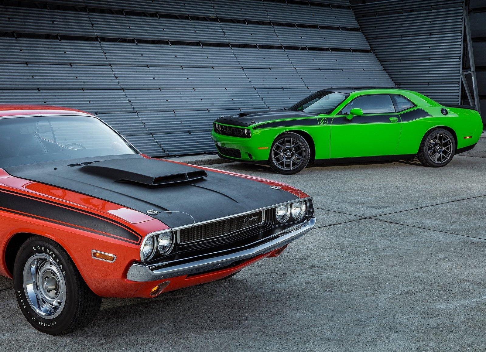 1970 & 2017 Dodge Challenger T/A
