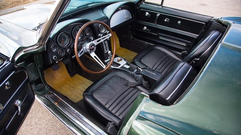 1967 Corvette Convertible Interior