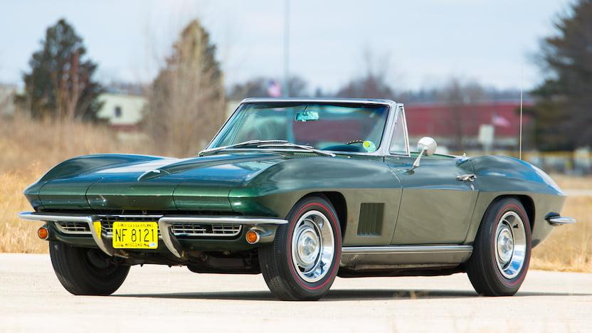 1967 Corvette Convertible Front 3/4