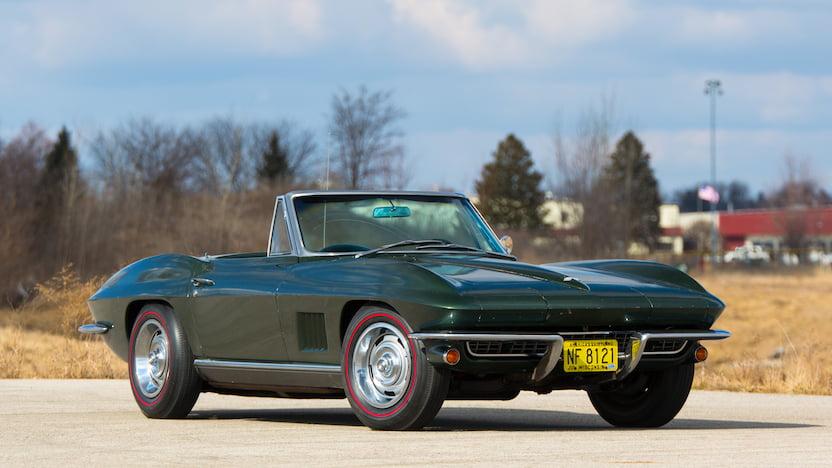 1967 Corvette Convertible Passenger Side