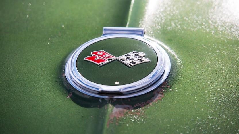 1967 Corvette Convertible Emblem