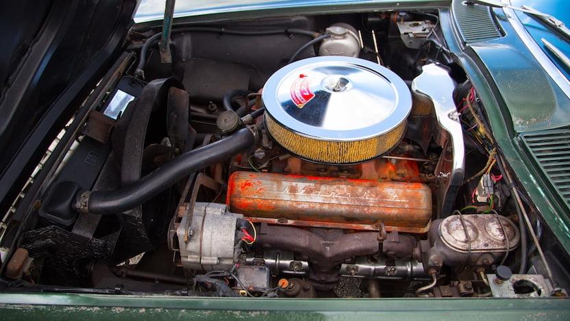 1967 Corvette Convertible Engine