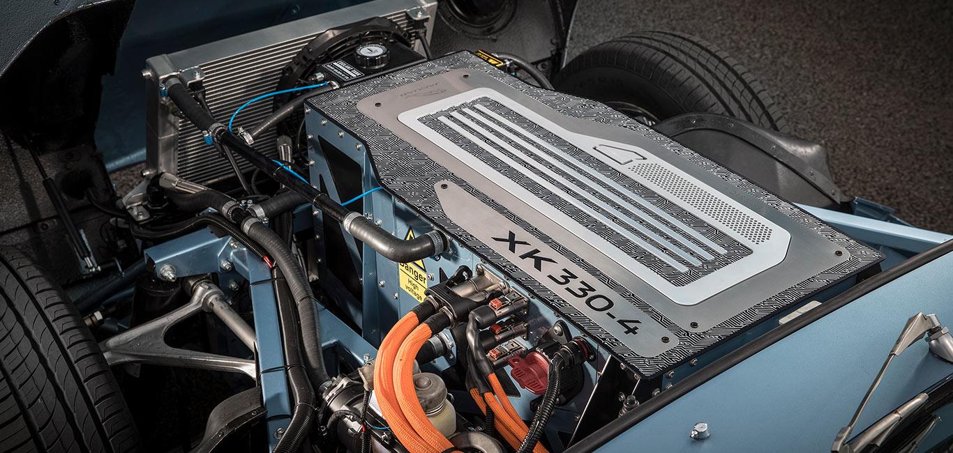 Jaguar E-Type Concept Zero Electric Motor