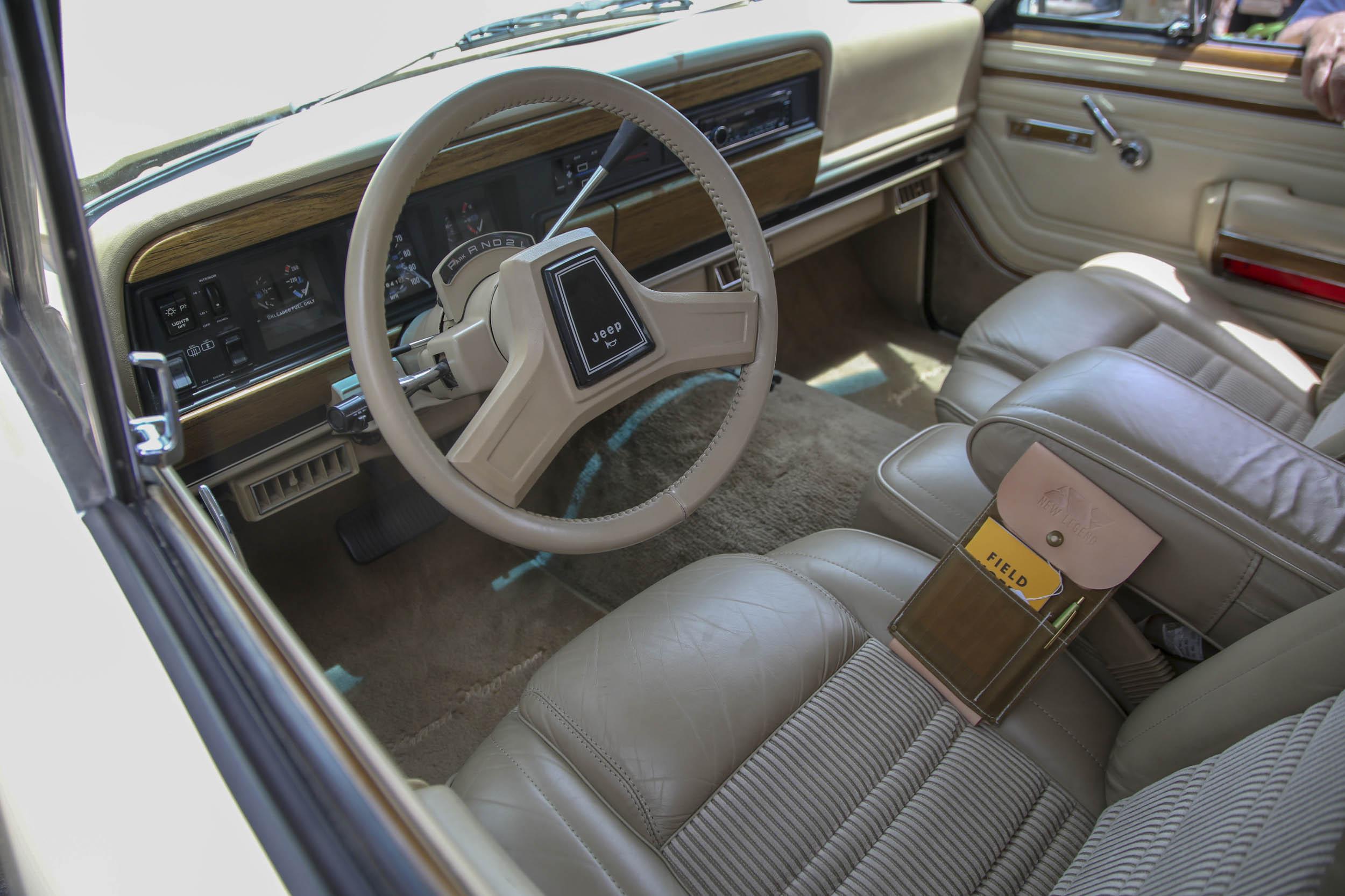 New Legend Jeep Grand Wagoneer interior