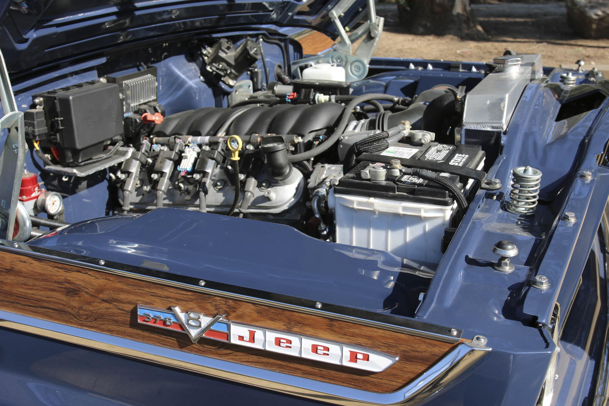 ICON Wagoneer engine
