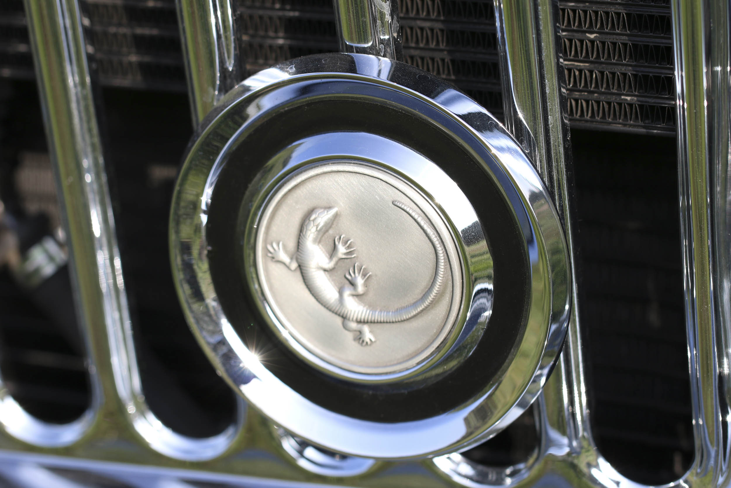 ICON Wagoneer front badge detail