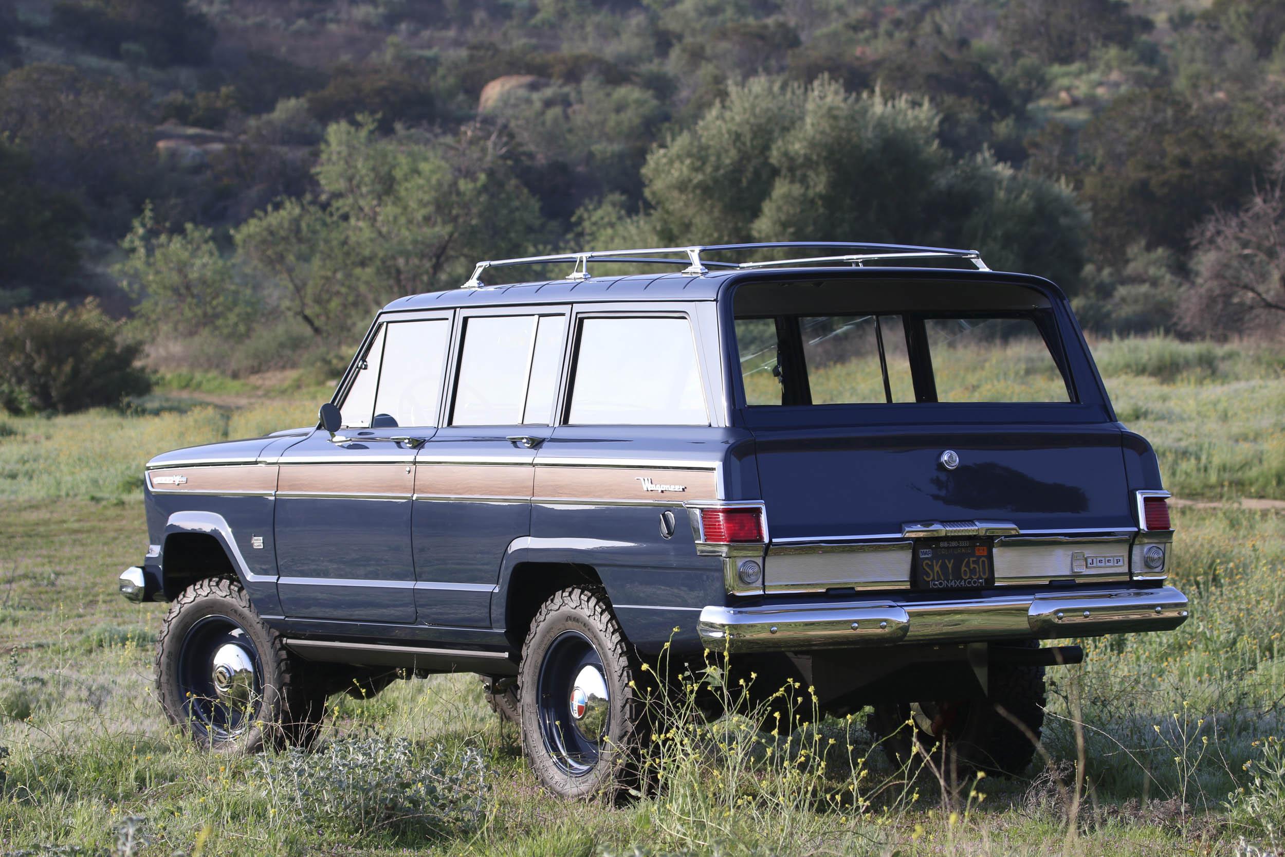 ICON Jeep Wagoneer rear 3/4